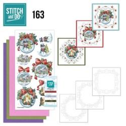 (STDO163)Stitch and Do 163 - Yvonne Creations - Wintry Christmas