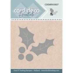 (CDEMIN10027)Card Deco Essentials - Mini Dies - Holly