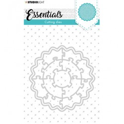 (SL-ES-CD75)Studio Light SL Cutting Die Puzzle circle Essentials nr.75