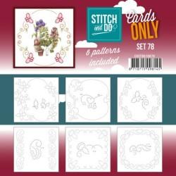 (COSTDO10078)Stitch and Do - Cards Only Stitch 4K - 78
