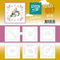 (COSTDO10079)Stitch and Do - Cards Only Stitch 4K - 79