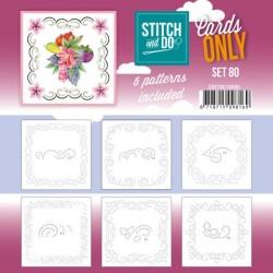 (COSTDO10080)Stitch and Do - Cards Only Stitch 4K - 80