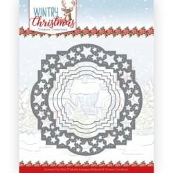 (YCD10242)Dies - Yvonne Creations - Wintery Christmas - Stars Frame