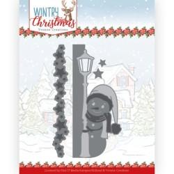 (YCD10245)Dies - Yvonne Creations - Wintery Christmas - Peek a Boo Snowman