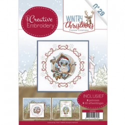 (CB10029)Creative Embroidery 29 - Yvonne Creations - Wintry Christmas