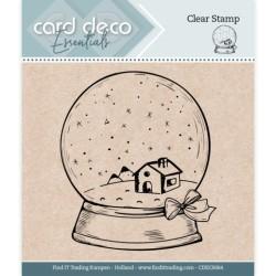 (CDECS064)Card Deco Essentials - Clear Stamps - Globe