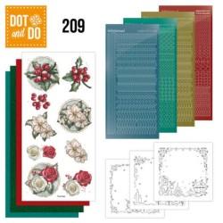 (DODO209)Dot and Do 209 - Amy Design - Winterflowers
