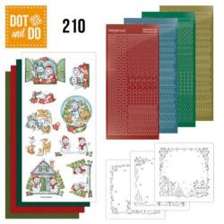 (DODO210)Dot and Do 210 - Yvonne Creations - Christmas Home