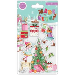 (CCSTMP069)Craft Consortium Made by Elves Tree Clear Stamps