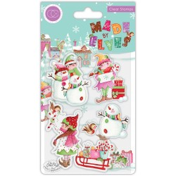 (CCSTMP071)Craft Consortium Made by Elves Candy Clear Stamps