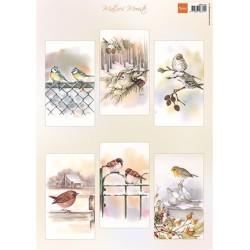 (MB0196)Mattie's mooiste Slimline birds