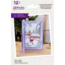 (GEM-STD-WOODEMB)Gemini Woodland Embellishments Stamp & Die