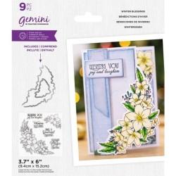 (GEM-STD-WIBL)Gemini Winter Blessings Stamp & Die