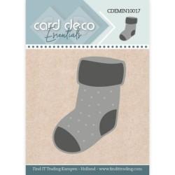 (CDEMIN10017)Card Deco Essentials - Mini Dies - Christmas Sock