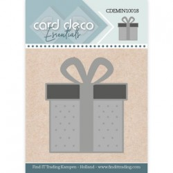 (CDEMIN10018)Card Deco Essentials - Mini Dies - Present