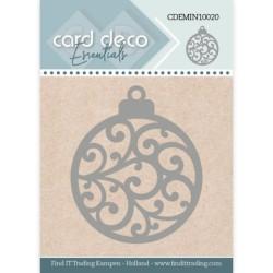 (CDEMIN10020)Card Deco Essentials - Mini Dies - Christmas Bauble