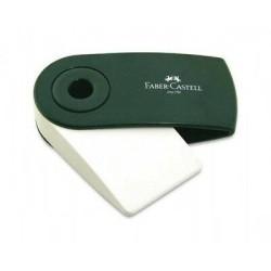 (182402)Faber Castell Sleeve Eraser Green