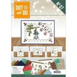 (DODOA6007)Dot and Do Boek 7 - Precious Marieke - Nature of Christmas (incl. Sticker Set)