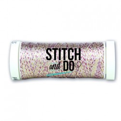 (SDCDS20)Stitch and Do Sparkles Embroidery Thread - Multicolor Red