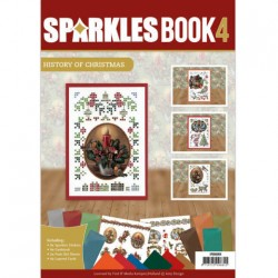(SPDOA6004)Sparkle Book A6 - 4 - Amy Design - History of Christmas
