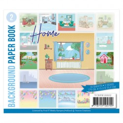 (YCBPB10002)Background Paper Book 2  - Yvonne Creations - Home