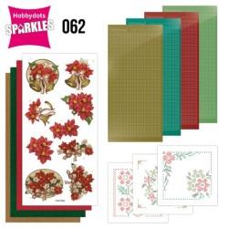 (SPDO062)Sparkles Set 62 - Amy Design - Poinsettia
