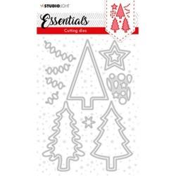 (SL-ES-CD61)Studio Light SL Cutting Die SL Cutting Die Christmas Trees Essentials nr.61