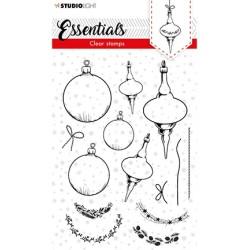 (SL-ES-STAMP95)Studio light Stamp Christmas Baubles Essentials nr.95