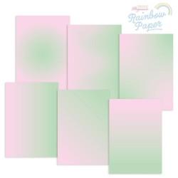 (GRO-AC-42017-XX)GROOVI DESIGNER RAINBOW PAPER - ROSE GARDEN A4
