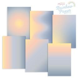 (GRO-AC-42015-XX)GROOVI DESIGNER RAINBOW PAPER - CALIFORNIA SUNSET A4