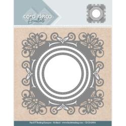 (CDCD10054)Card Deco Essentials - Aperture Dies Holly Round