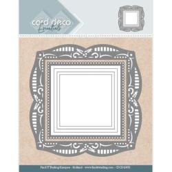 (CDCD10055)Card Deco Essentials - Aperture Dies Holly Square