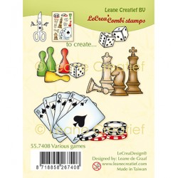 (55.7408)Clear Stamp Various games