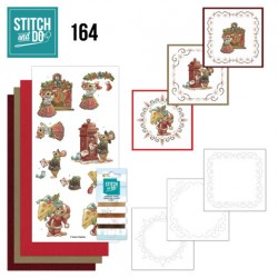 (STDO164)Stitch and Do 164 - Yvonne Creations - Have a Mice Christmas