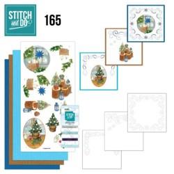 (STDO165)Stitch and Do 165 - Jeanine's Art - Christmas Cottage
