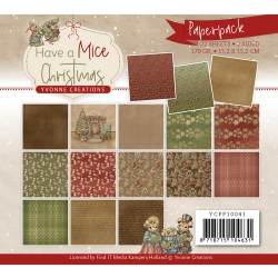 (YCPP10041)Paperpack - Yvonne Creations - Have a Mice Christmas