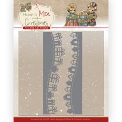 (YCD10250)Dies - Yvonne Creations - Have a Mice Christmas - Christmas Gift Borders