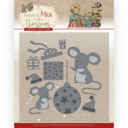 (YCD10252)Dies - Yvonne Creations - Have a Mice Christmas - Gardening