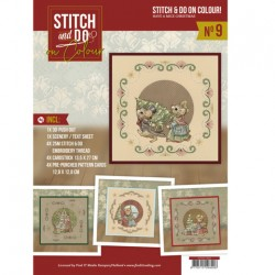 (STDOOC10009)Stitch and Do on Colour 009 - Yvonne Creations - Have a Mice Christmas