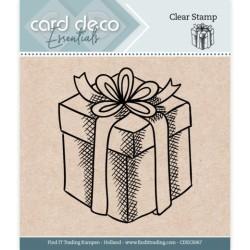 (CDECS067)Card Deco Essentials - Clear Stamps - Presents