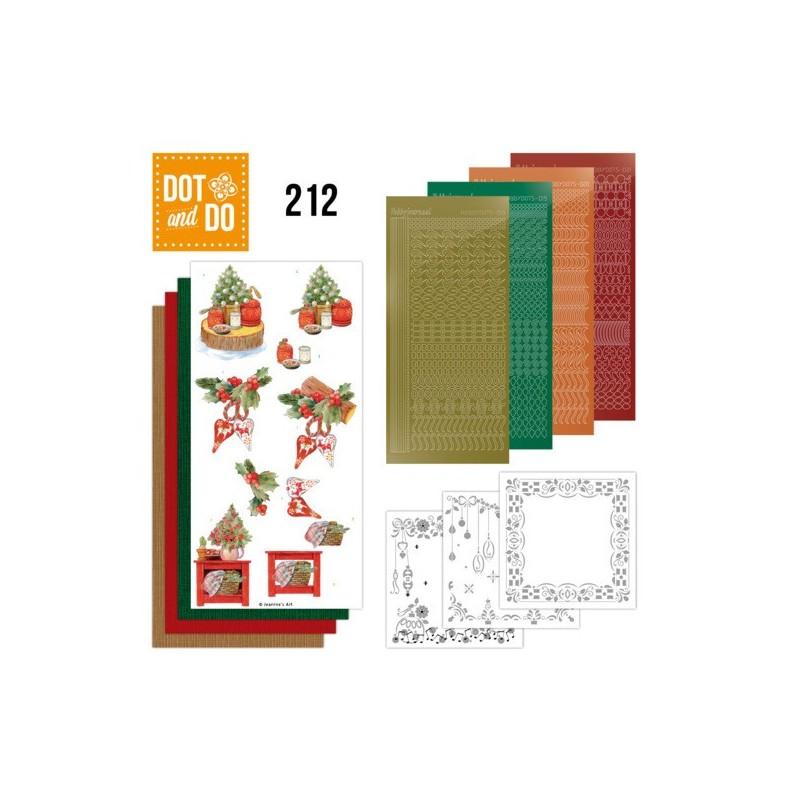 (DODO212)Dot and Do 212 - Jeanine's Art - Christmas Cottage