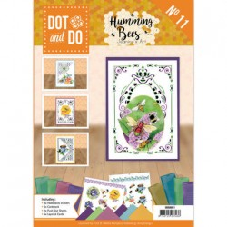 (DODOA6011)Dot and Do Book 11- Jeanine's Art - Humming bees