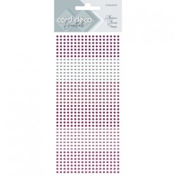 (CDEAS003)Card Deco Essentials - Adhesive Stones - Pink