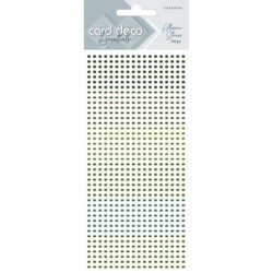 (CDEAS004)Card Deco Essentials - Adhesive Stones - Green