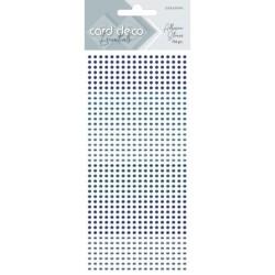 (CDEAS005)Card Deco Essentials - Adhesive Stones - Blue