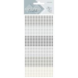 (CDEAS006)Card Deco Essentials - Adhesive Stones - Grey