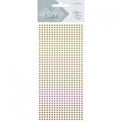 (CDEAS007)Card Deco Essentials - Adhesive Stones - Yellow