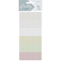 (CDEAS010)Card Deco Essentials - Adhesive Stones - Christmas