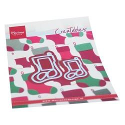 (LR0733)Creatables Christmas Stockings