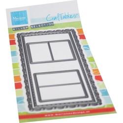 (CR1563)Craftables Slimline-mini Windows
